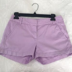 Purple jcrew shorts